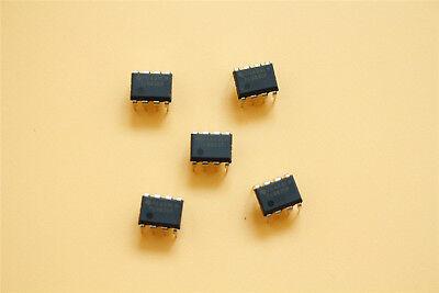 5pcs Tl082 Tl082cp High Voltage Amp Dual Jfet Dip-8 Ic Op