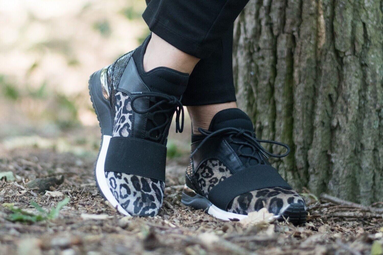 La Strada Damen Sneaker 1707151-4691 - black leo
