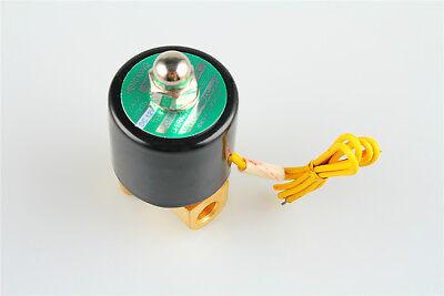 Electric Solenoid Valve 12v Dc Diesel Gas Water Air 2w-025-06 Nc G18 Us