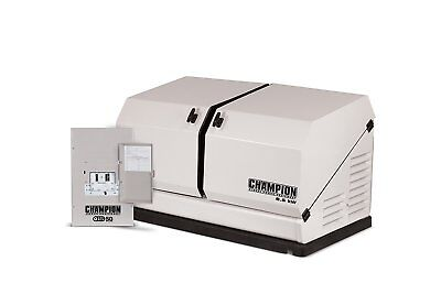 Champion 8.5kw 439cc Lpng Standby Generator W 50amp Transfer Switch 100174