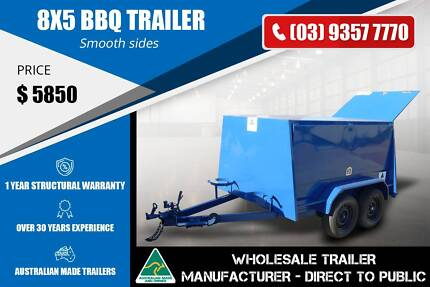 8x5 BBQ Trailer - Fully RHS Epping Whittlesea Area Preview