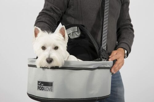 PodiLOVE Pet Carrier with Bike Connection CHARITY reg $169