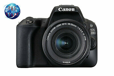 Canon EOS 200D / SL2 DSLR Camera w/ EF-S 18-55mm f/3.5-5.6 III Lens/ISO 25,600