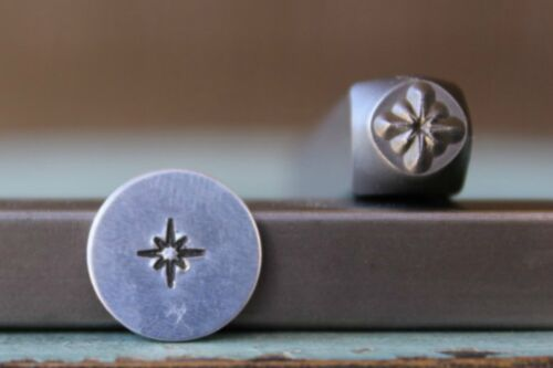 SUPPLY GUY 5mm Twinkle Star Metal Punch Design Stamp SGCH-158