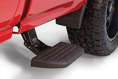 AMP RESEARCH SIDE FOLDING BED STEP CHEVY SILVERADO GMC 1500 2500HD 3500HD 15-17