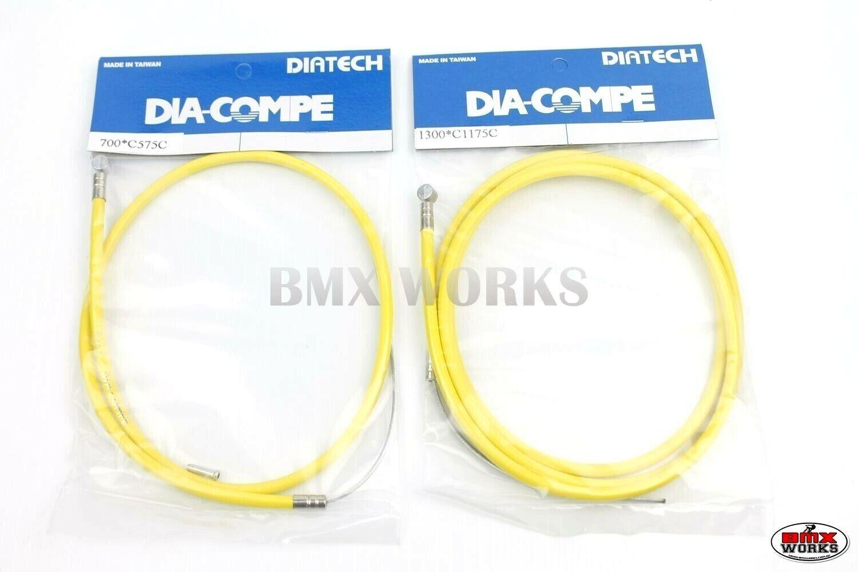 Academy Blue 1 x Pro Linear BMX Bike Brake Cable