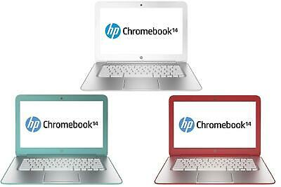 HP Chromebook 14 Intel Celeron 2955U 16GB 2GB Chrome Laptop Netbook HD Graphics