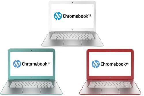 "HP Chromebook 14 G1 SMB F7W49UA#ABA 14"" 2GB RAM 16GB SSD Netbook HD Graphics"