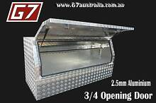 Aluminium Toolbox 3/4 Opening Door for utes trucks trailers tool Brisbane City Brisbane North West Preview
