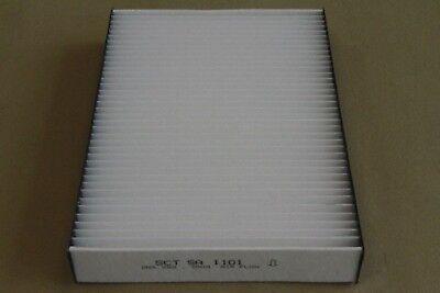 Pollenfilter/ Innenraumfilter SA 1101 von SCT Germany - Reinigung Von Klimaanlagen Filter
