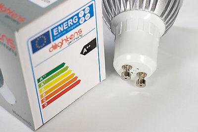 4x LED 5w GU10 Blanco Cálido Lámpara LED, FOCO LED , faros LED segunda mano  Embacar hacia Mexico