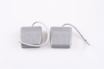 2pcs Foot Switch 10a Spdt No Nc Momentary Control Electric Pedal