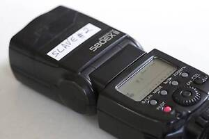 Canon 580exii TO BE USED IN MANUAL ONLY OR SLAVE Rose Bay Eastern Suburbs Preview