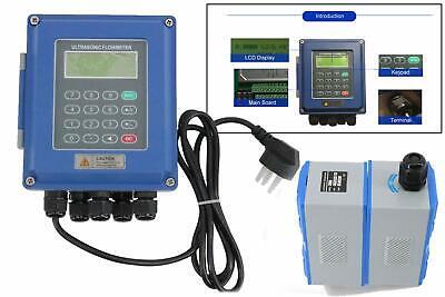 Ultrasonic Flow Meter Liquid Flowmeter Tuf-2000b Tl-1 Transducer Dn300 To 6000mm