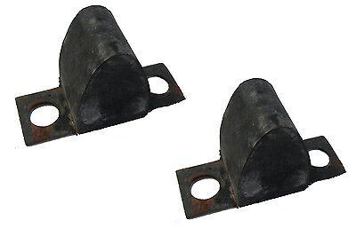 2 Lower Control Arm Rubber Bumpers 1973-1976 Mercury Montego 73 74 75 76