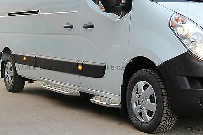 RUNNING BOARDS SIDE RENAULT MASTER 10/ L2/L3 STAINLESS STEEL COUNTERPART RIGHT/