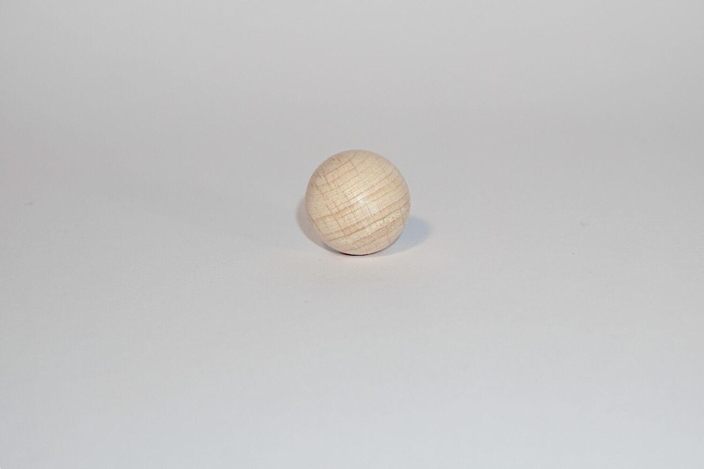Rohholz-Halbkugeln ungebohrt Größe in Auswahl