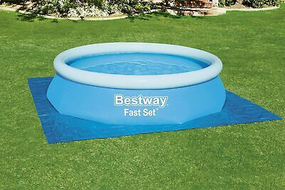 Bestway Ground Cloth Tarpauline Swimming Pool Floor Protector Tarp Mat Cover 13f
