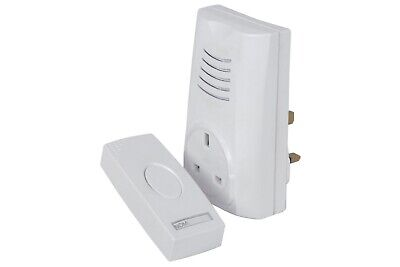 Plug Through Wireless Door Chime
