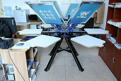 Techtongda Screen Printing Machine For Commercial Industry 6 Color For Diy New