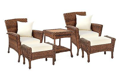 - NEW! W Unlimited Rustic Collection Outdoor Faux Sea Grass Garden Patio Furniture
