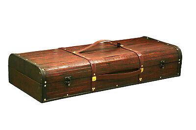 Maleta caja de madera para regalar jamón, almacenaje