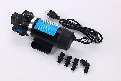 110v High Pressure Self-priming Diaphragm Water Pump 160psi11bar 7lpm F Rvboat