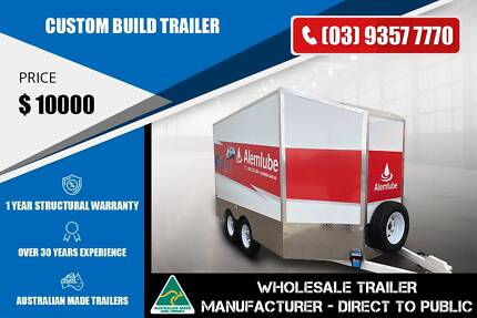 Custom Build Trailer - Nose Cone At Front Epping Whittlesea Area Preview