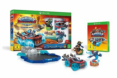 Xbox One NEW Game * SKYLANDERS SUPERCHARGERS STARTER PACK * Sca Pack