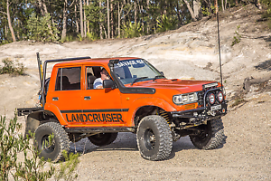 80 series landcruiser swap for a jeep wrangler Adamstown Newcastle Area Preview