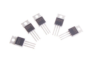 5pcs Lm337t Lm337 -1.237v To-220 Voltage Regulator 337 Negative Adjustable