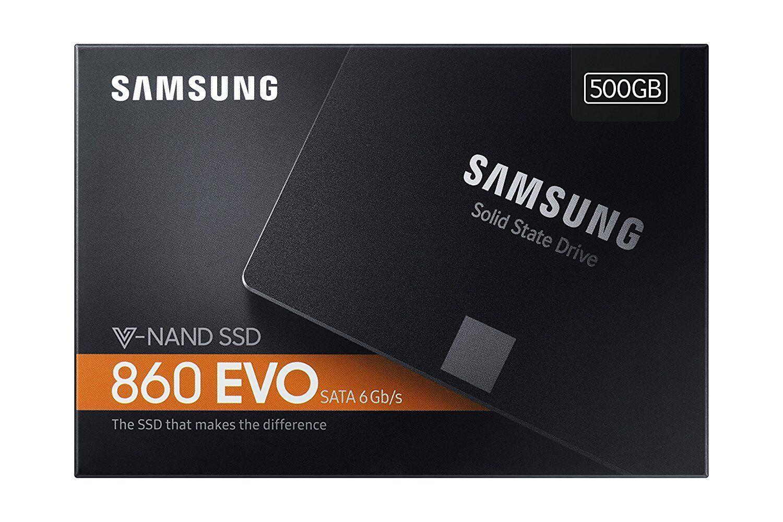 SSD HARD DISK SOLIDO SAMSUNG 860 Evo Series V-NAND 500GB SATA3 6Gb MZ-76E500B