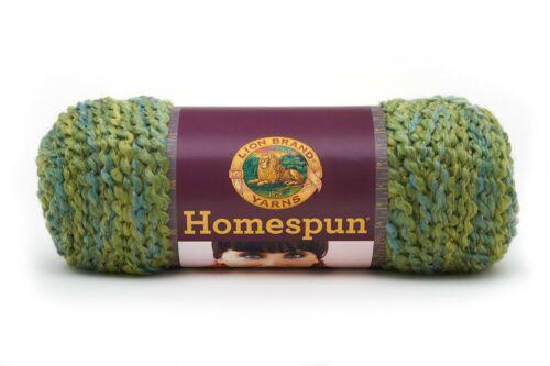 Lion Brand Homespun Yarn Skein of yarn 1 Ball Pesto 790-415 Crochet, Knitting