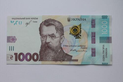 Ukraine 1000 Hryven, Vernadsky, 2019 UNC Brand New Issued at 25th October 2019