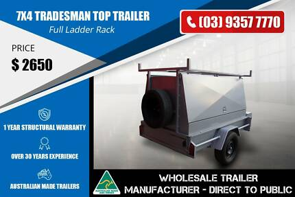 7x4 Single Axle Trailer - Tradesman Top Epping Whittlesea Area Preview
