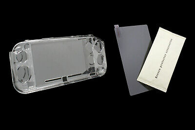 SKGAMES Nintendo Switch Lite Hardcase Schutz Hülle Transparent Panzer Schutzglas