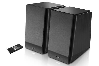 Edifier R1850DB Studio Active Bluetooth Bookshelf Speaker Set - Matte Black