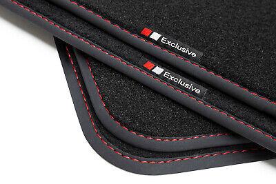 Exclusive-line Design Fußmatten für Skoda Octavia 3 III Bj 2012