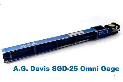 Ag Davis Digital Omni Gage Sgd-25 Shallow Diameter Groove Gage 14.75-26 Range