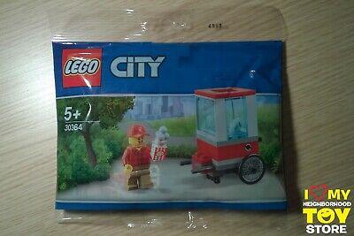 IN STOCK - LEGO 30364 POLYBAG CITY CARRETTO DEI POPCORN CART (2019) - NEW