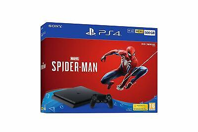 Sony Playstation 4 500GB Console with Marvels Spider-Man NEW DISPATCH BY 2 P.M.