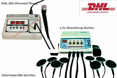 1mhz Physical Swelling Relief New Combo Electrotherapy Ultrasound Therapy Fgb