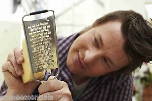 Jamie Oliver Fine & Coarse Grater Set Parmesan Cheese Spice Citrus Zester
