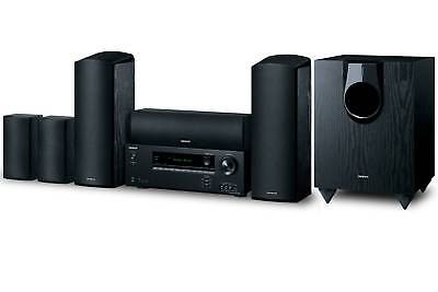Onkyo 5.1.2-Channel 925 Watts Dolby Atmos Home Theater System Black | HT-S5800