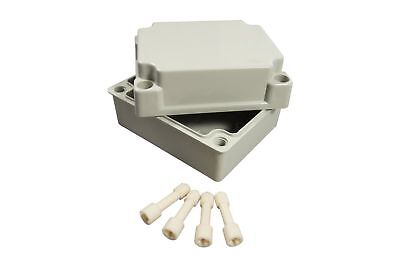 Plastic Electrical Enclosure Junction Box Abs 120x100x70mm Waterproof