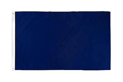 2x3 Navy Blue Solid Color 210D 2'x3' Knitted Poly Nylon DuraFlag Banner (FI)
