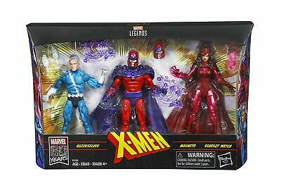 MARVEL LEGENDS XMEN 3 PACK FAMILY MATTERS QUICKSILVER SCALET WITCH MAGNETO SET