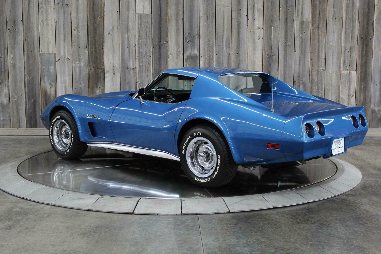 1975 Blue Chevrolet Corvette  L82   C3 Corvette Photo 3