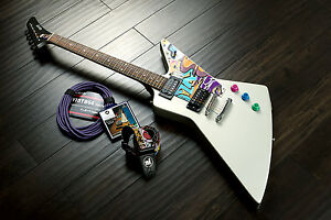 DERBY ZX1 Quincy explorer style shape electric custom guitar EX design UK stock