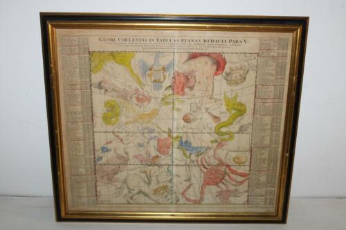 Antique Celestial Map, Globi Coelestis in Tabulas Planas Redacti Pars V